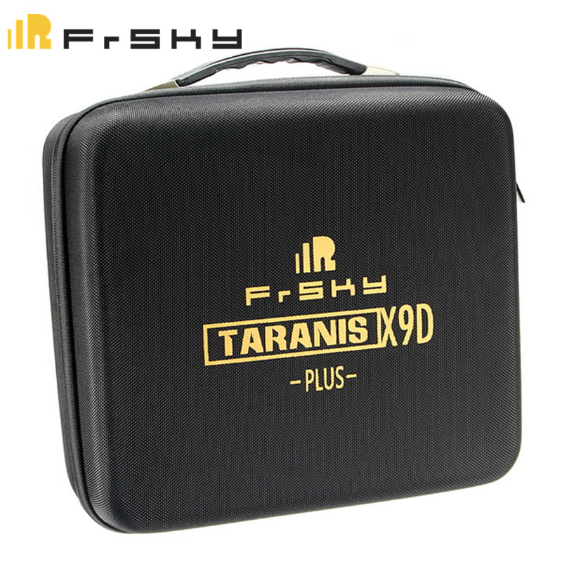 купить Original Portable Frsky Taranis X9D PLUS Remote Controller Transmitter Bag EVA Handbag Hard Case For RC Models Black недорого
