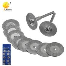 10Pcs 16-50MM Mini Diamond Grinding Cutting Wheel Disc Saw Blades Sharpener Cut Off Abrasive Disks Rotary Tools for Dremel