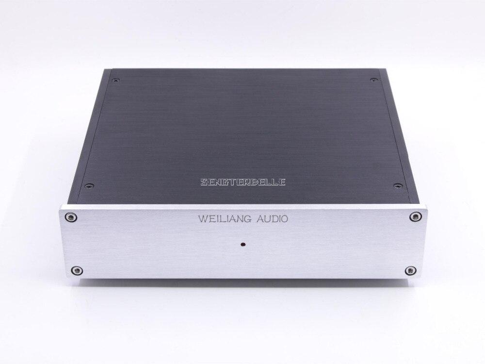 Amplificateur assemblé MM/MC à double Circuit HIFI fini pour scène Phono