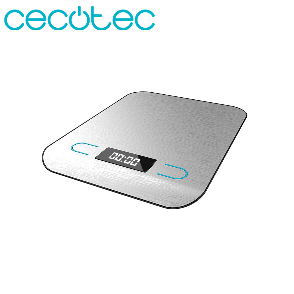Cecotec Digital Kitchen Scale Cook Control 8000 Maximum Accuracy LCD Touch Sensitive Smart Design