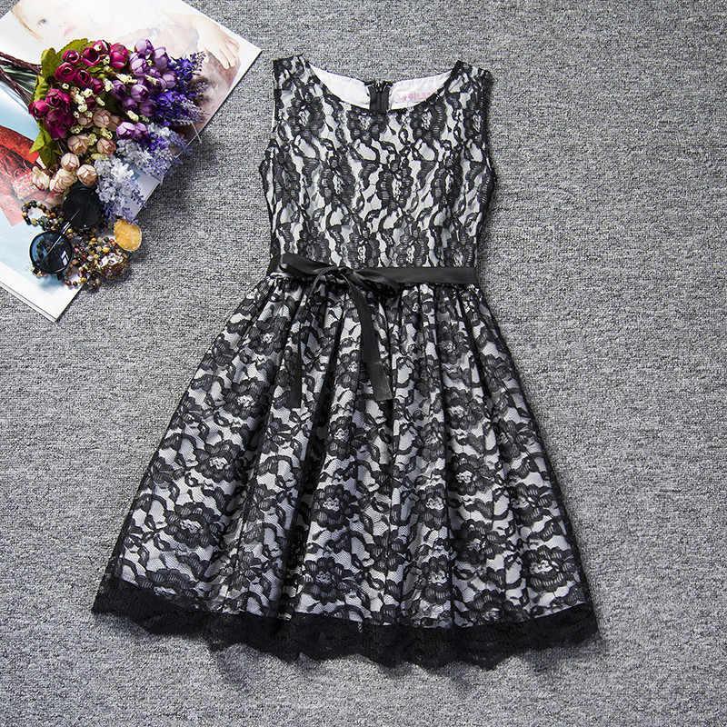 Летнее платье для маленьких девочек Детская праздничная одежда детская одежда платье для церемонии для девочек-подростков, одежда для девочек 10 лет