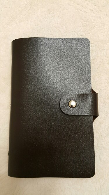 Business Card Holder Black 156 Bank  Women&Men Card Bags Name Id Business Leather Credit Card Case Card Holder Ls8916fb photo review