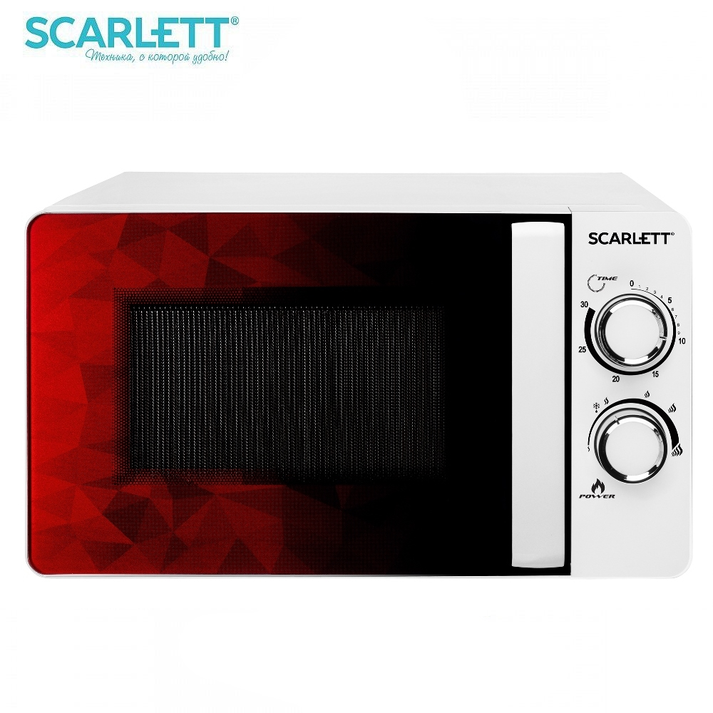 Microwave oven Scarlett SC-MW9020S04M 700 W Microwave oven kitchen Household appliances for kitchen