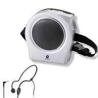 Mini Portable Tour Guide Voice Amplifier Megaphone Loudspeaker Booster Speaker with Mic for Teachers Classroom Public Speech