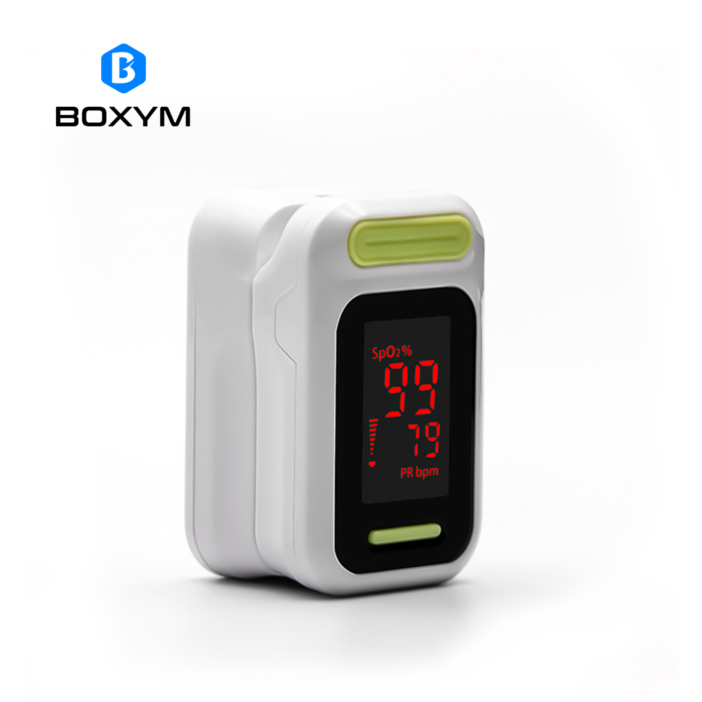 все цены на BOXYM Medical digital LED Finger Pulse Oximeter Blood Oxygen Saturation Monitor De Pulso Oximetro Health Care