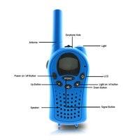 מכשיר הקשר 2pcs מיני מכשיר הקשר לילדים רדיו FRS / GMPs 8 / 22CH VOX פנס צג LCD UHF 400-470 MHZ שני מכשירי רדיו דרך מתנות אינטרקום (4)