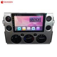 Android 8,1 Автомобильный плеер с gps навигатором для Toyota FJ Cruiser радио головное устройство Мультимедиа Стерео ram 1G rom 16G