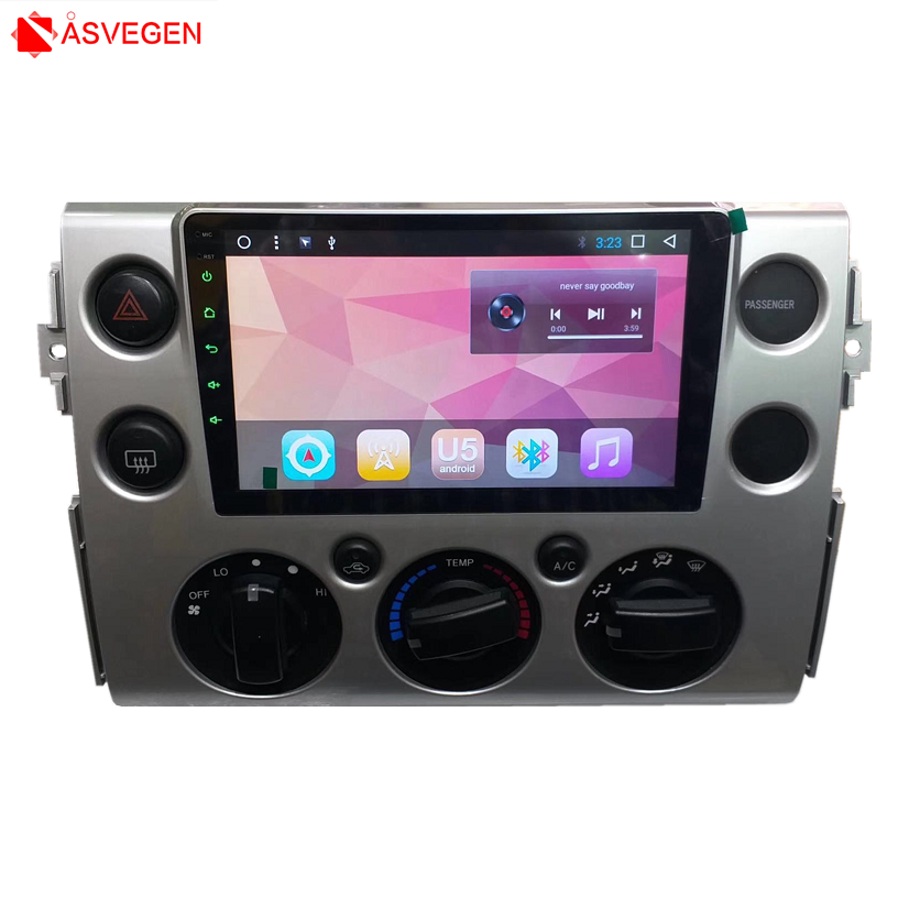 Android 8 1 Car font b Player b font GPS Navi For Toyota FJ Cruiser Radio