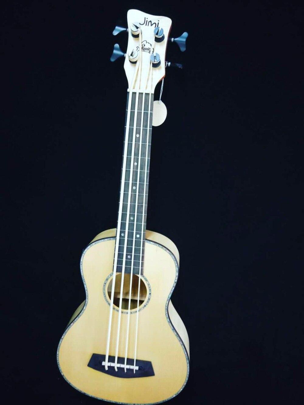 """Dependable 2018 New + Factory + 30 Inches Ukulele Bass Flame Maple Body 30"""" Size Jimi Ukulele Electric Bass Guitar Super Quality Ukelele"""