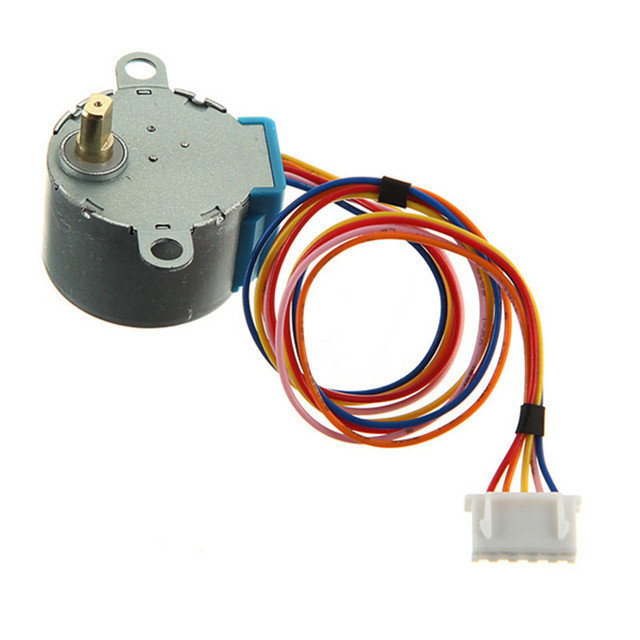 Gear stepper motor dc 5v 4 phase 5 wire reduction step for for Stepper motor holding torque calculator