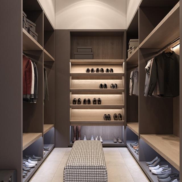 Style Americain Placard Chambre Dressing Avec Porte Coulissante