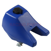 Blue Fuel Gas Petrol Tank for PW80 PY80 PW PY 80 PEEWEE with Cap and Petcock Motocross Dirt Bike Motorcycle Accessories flypig 7pcs set durable engine gasket top end rebuild kit for yamaha pw 80 pw80 py80 peewee moto bike atv quad motorcycle parts