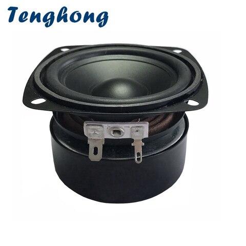 Alto-falante de Gama Áudio ao ar Livre à Prova Tenghong Polegada – 8ohm 15 w Completa Tweeter Midrange Woofer Alto-falante Bluetooth Dwaterproof Água 1pc 3 4