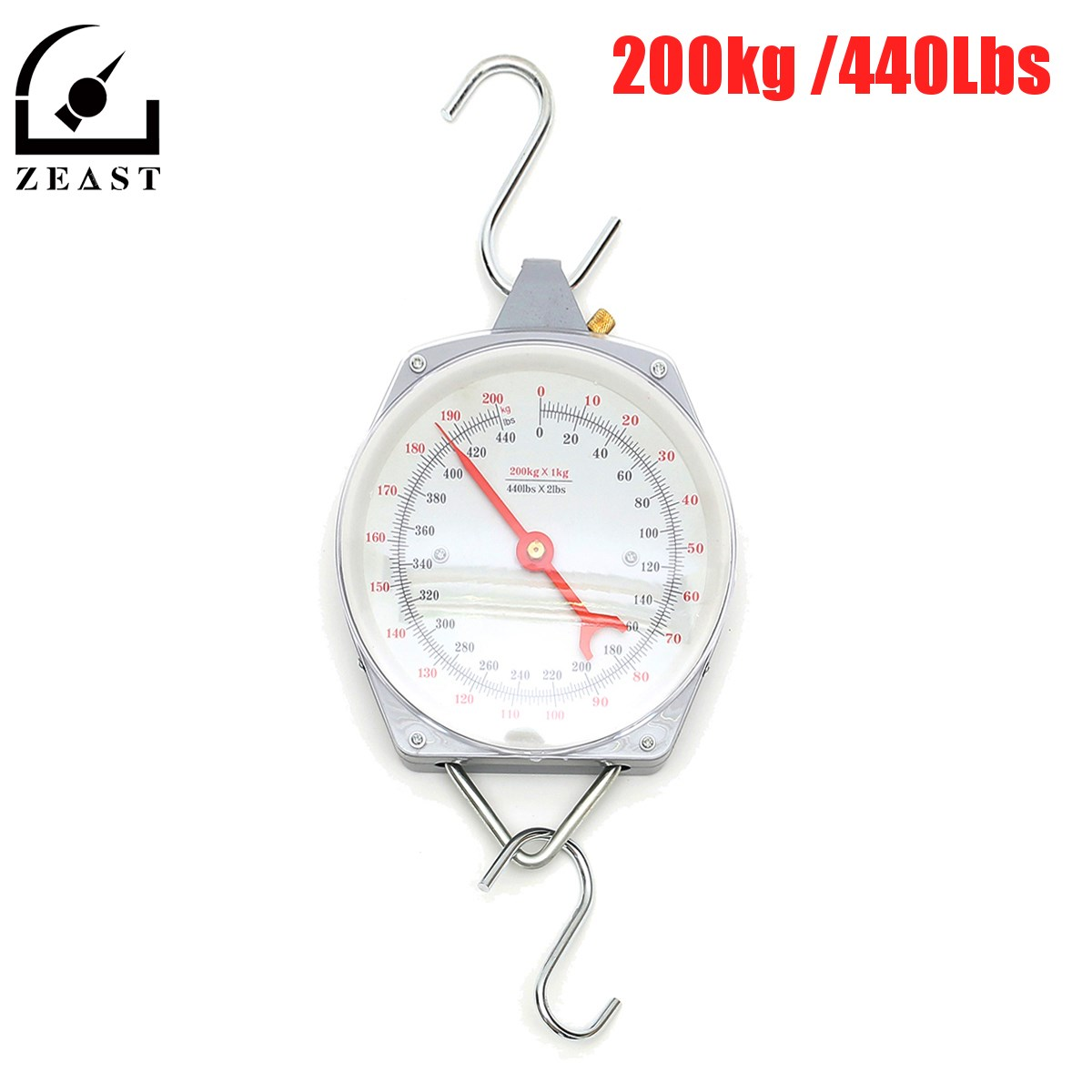 Scale Capacity 200kg 440lbs Alloy Mechanical Hanging