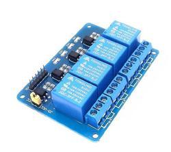 5 볼트 채널 아두 보호 릴레이 모듈 ARM PIC AVR DSP 전자 5 볼트 4 채널 릴레이 4 도로 5 볼트 릴레이 모듈