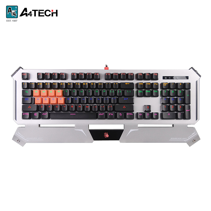Gaming keyboard A4 Bloody B740A Officeacc elephone eleenter game1 professional gaming keyboard black