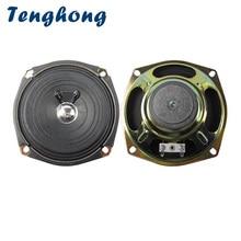 Tenghong 2 sztuk 5 Cal głośniki audio 120 MM 4Ohm 5 W głośnik pełnozakresowy jednostka róg dla sportu na świeżym powietrzu transmisji klawiatura plac głośnik