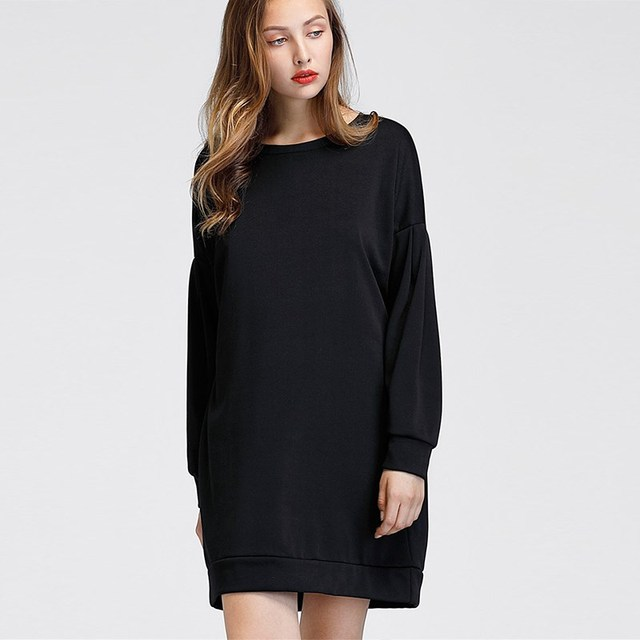 Mini jurk lange mouw