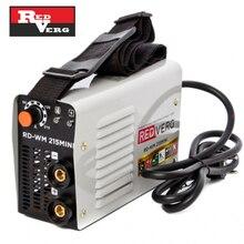 Аппарат сварочный инверторный RedVerg RD-WM 215MINI (мощность 7.9 кВт, Сварочный ток 20-215А, Диаметр электродов 4 мм)