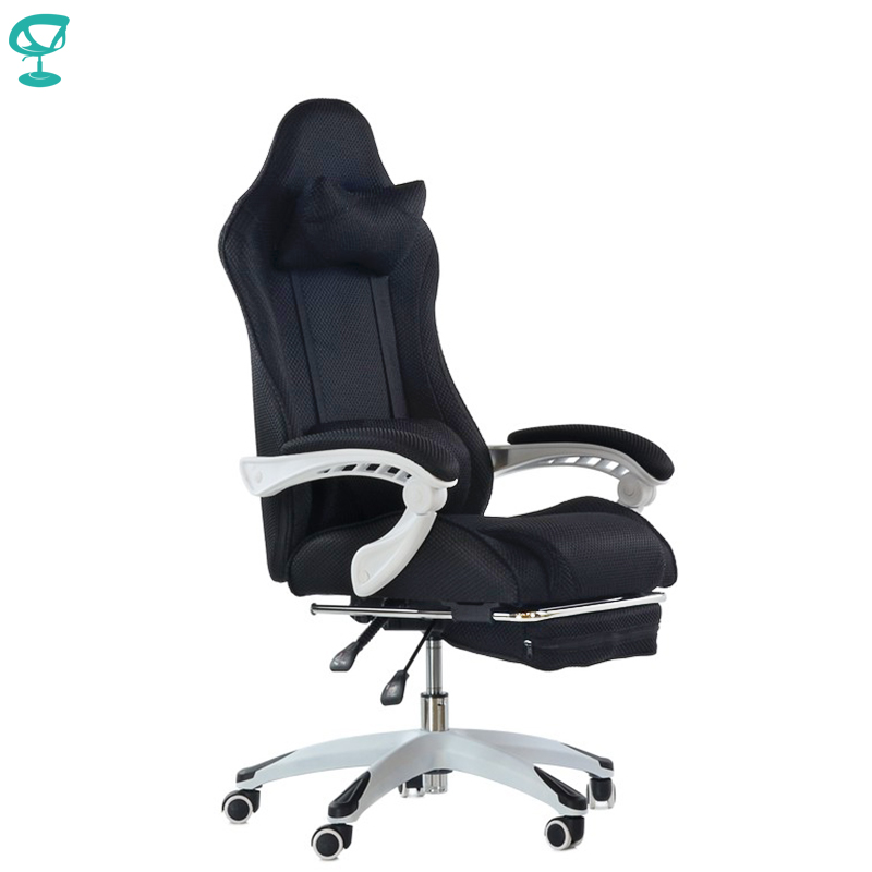 95273 Barneo K-140 Black Gaming Chair Computer Chair Mesh Fabric High Back Plastic Armrests Free Shipping In Russia