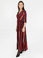 Long dress with lurex