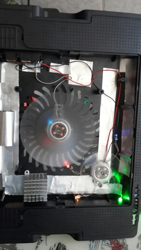 pc computer fan case cooling fan unit fan 8025 8cm with  LED lights  chassis fan  80*80*25