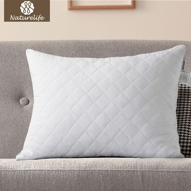 Naturelife Shredded Memory Foam Pillow With Clean Filling For Back And Side Cushion Long Sleeping Maternity Pillows