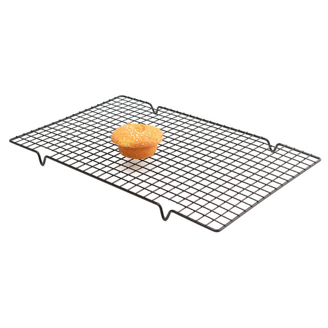 Online Shop 25x40CM Nonstick Cooling Rack Cake Drying Stand Mesh ...