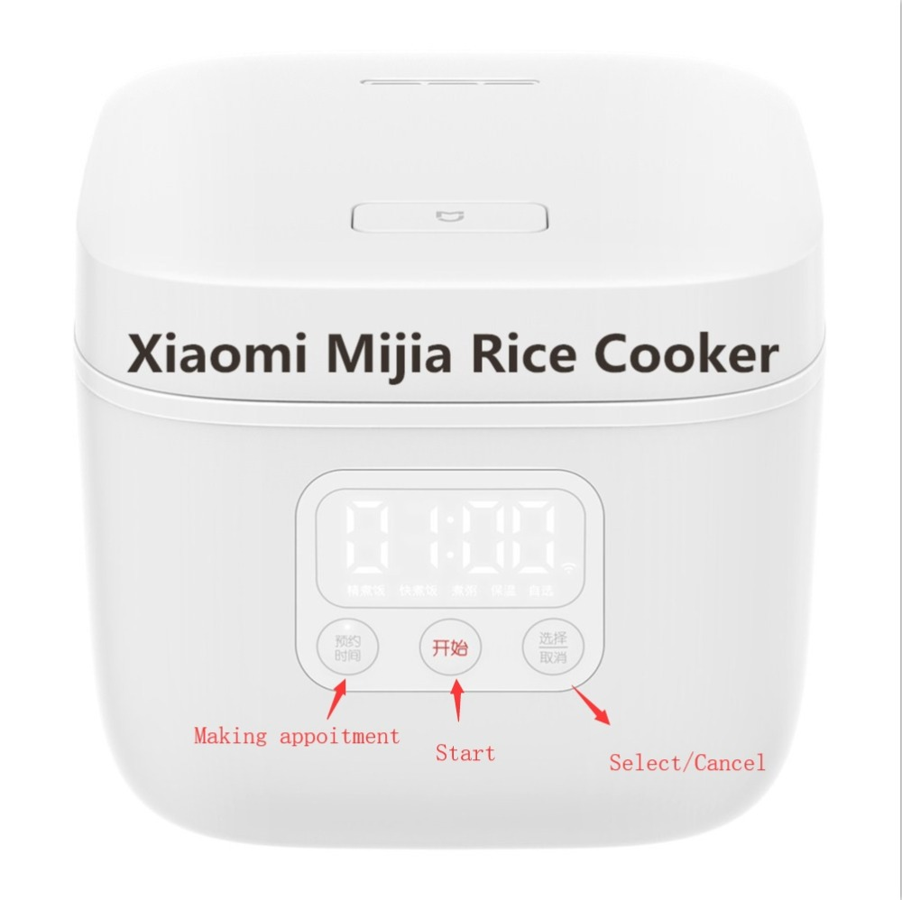 Electric Rice Cooker 1.6L 17