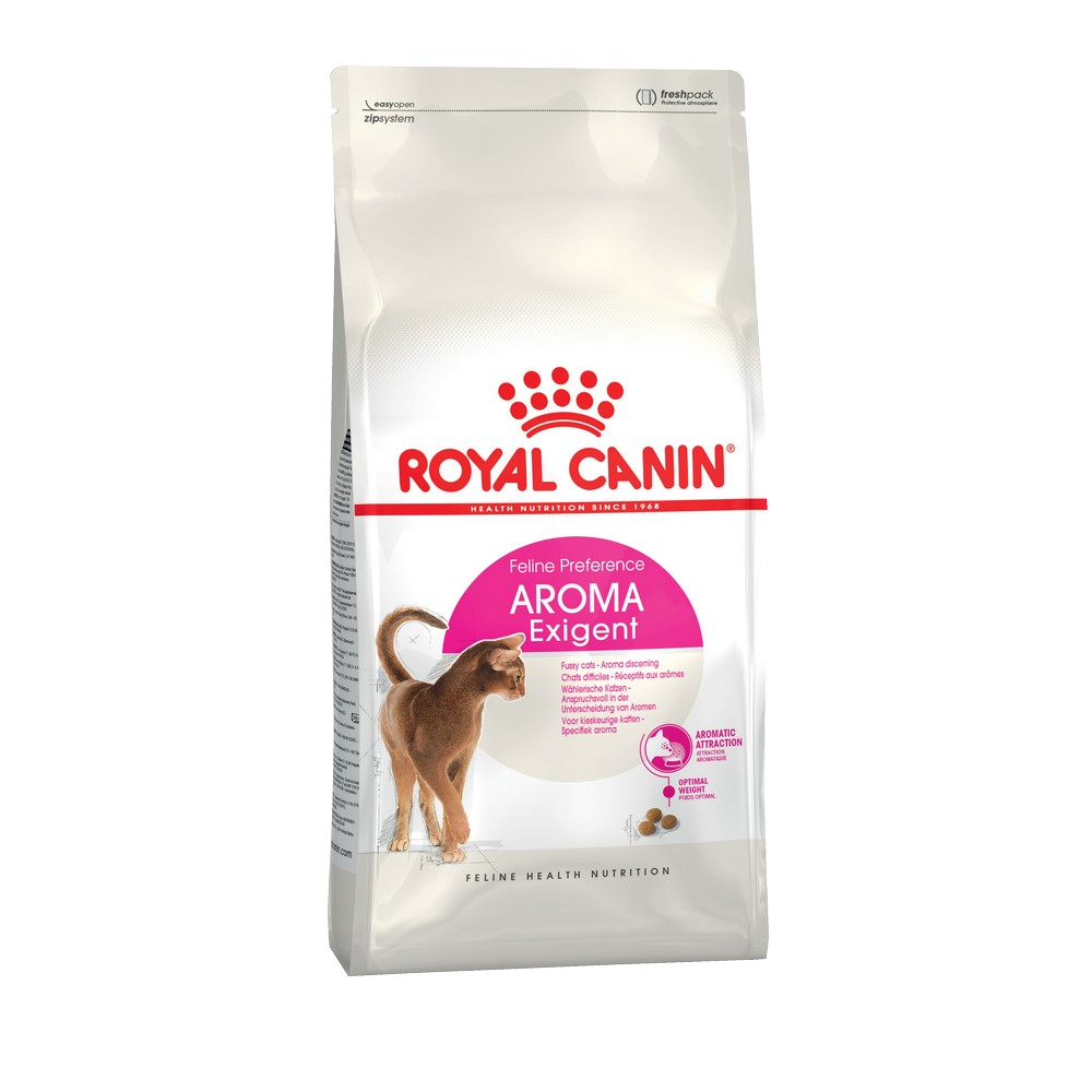 Cat food Royal Canin Exigent Aromatic Attraction, 2 kg cat food royal canin exigent savour sensation 2 kg