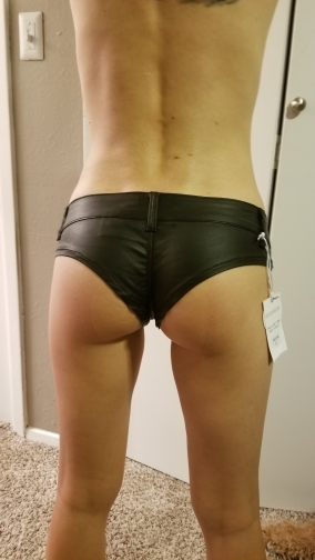 Sexy Shorts Womens Low Waist Short Shorts Pu Mini Shorts 2017