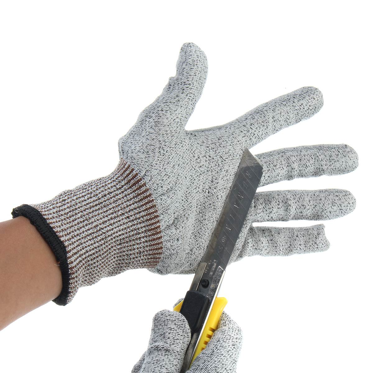 NEW Safety Cut Proof Stab Resistant Stainless Steel Wire Metal Mesh Butcher Gloves Cut-Resistant Safety Gloves safety cut proof stab resistant work gloves stainless steel wire safety gloves cut metal mesh butcher anti cutting work gloves