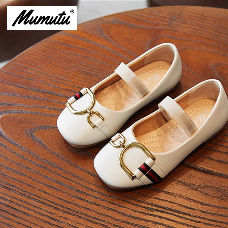 Odorless soft standard size children like girls breathable anti wear casual light Girls summer flat shoes MM1952