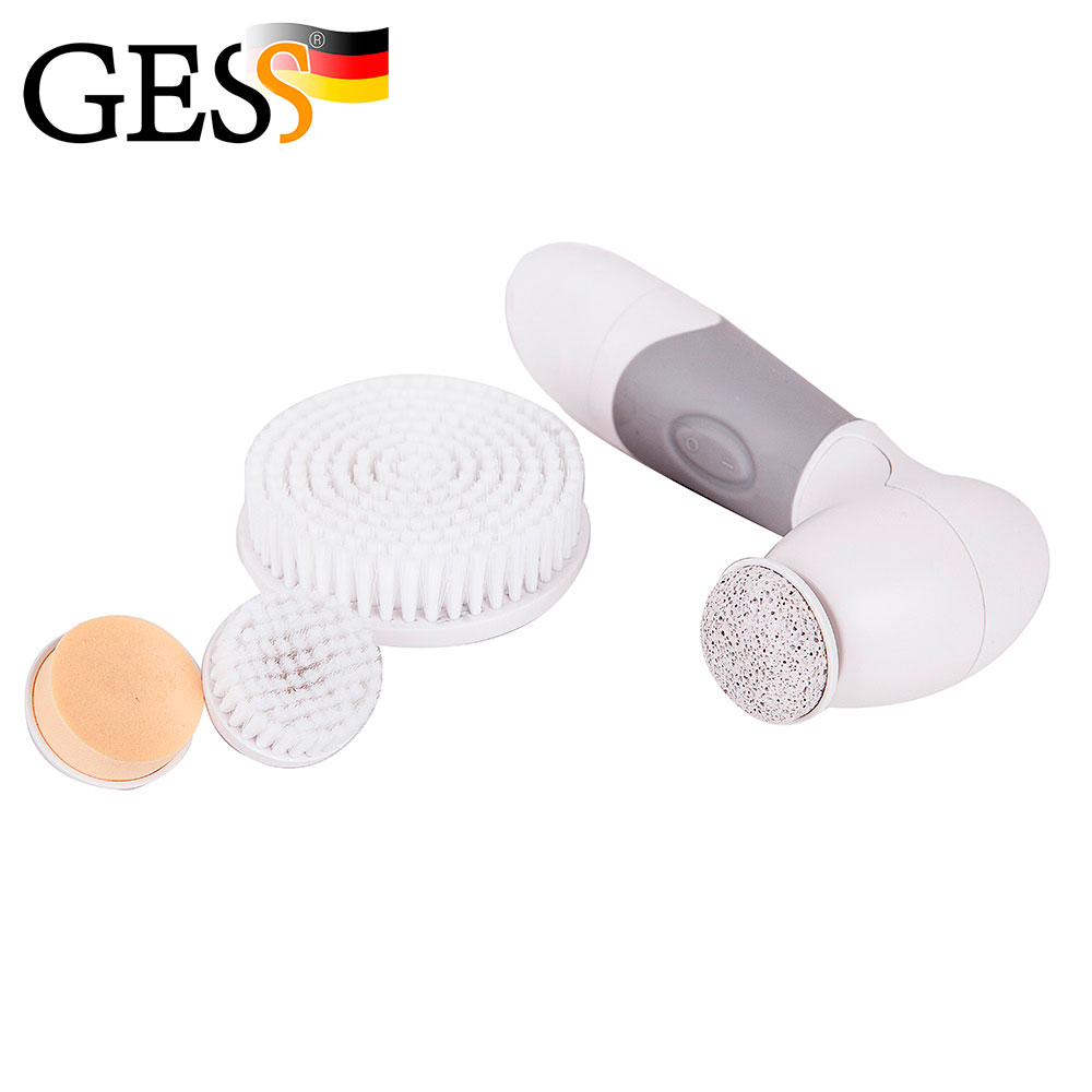 Multifunction Electric Facial Cleaner Face Skin Care Brush Massager Deep Clean Remove Black Spots Spa Expert Gess Gessmarket electric waterproof silica gel cleansing instrument rechargeable face washing fine soft brush make deeply pore cleaner pink