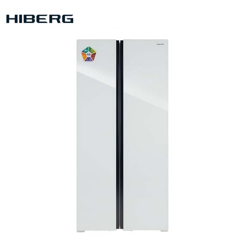 Refrigerator Side-by-Side  HIBERG RFS-480DX NFGW цена 2017