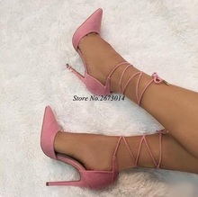Gold Heels Pumps Women Shoes Pointed Toe Cross Strap Women Heels Dress Shoes Cut-out Strappy Sandals Customized 2019 Spring New кабель usb lightning 8 pin 2а 1м белый 20543