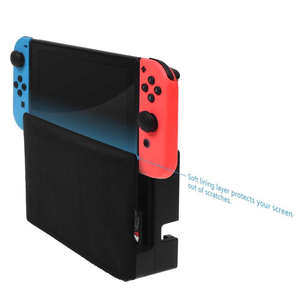 2019 Hot  Soft Lining Cover Storage Bag for Nintendo Switch Charging Dock Game Console2019 Hot  Soft Lining Cover Storage Bag for Nintendo Switch Charging Dock Game Console
