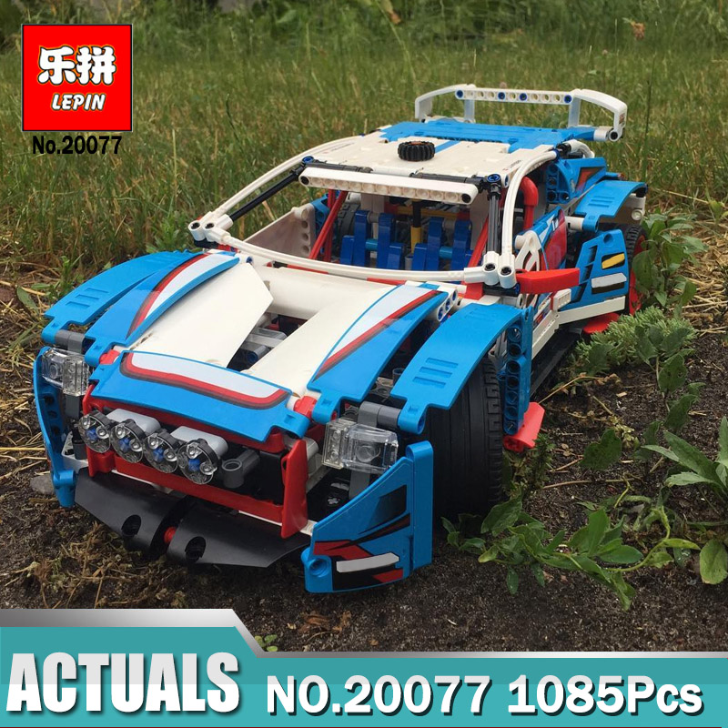 Lepin Technic 20077 compatible legoing Technic 42077 The Rally Car Set Building Blocks Bricks Educational Funny Children Toys lepin technic 20055 the rescue vehicle set 1180pcs building blocks toys for children bricks compatible legoing technics 42068