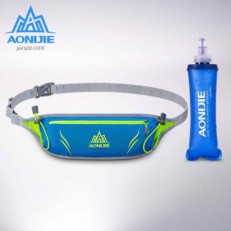 Aonijie homens ultraleve maratona de cross country em execução saco de desporto das mulheres ciclismo gel de energia cinto número polegadas saco do telefone móvel