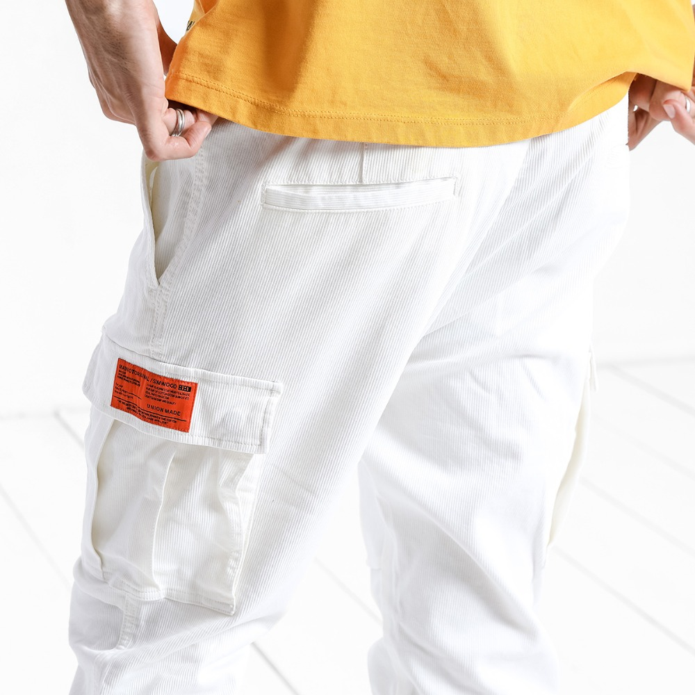 SIMWOOD New Arrive 2019 Casual Pants Men Fashion Ankle-Length Trousers Plus Size High Quality Cargo Hip Hop Streetwear 180525