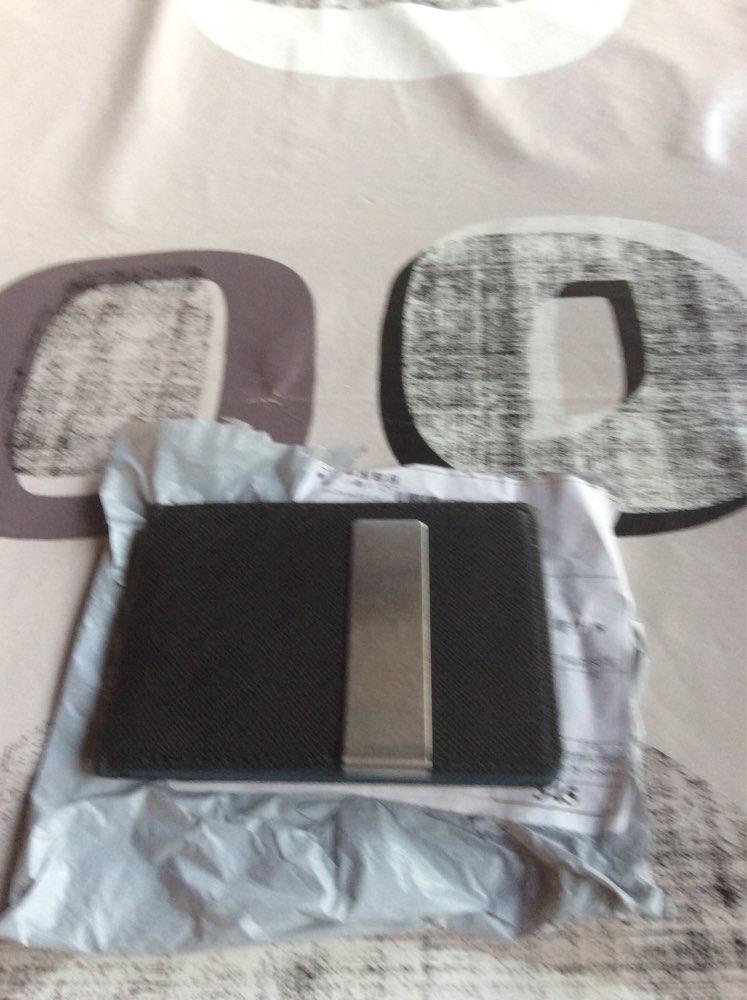 2019 New arrival High quality PU leather magic wallets fashion designer men money clip holder magnet magic money clip photo review