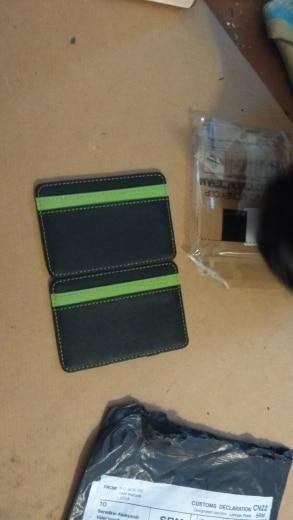 Slim Kashelek For Money Clip Mini Women Men Magic Wallet Female Male Purse Card Bag Holder Small Walet Thin Cuzdan Vallet Klachi photo review