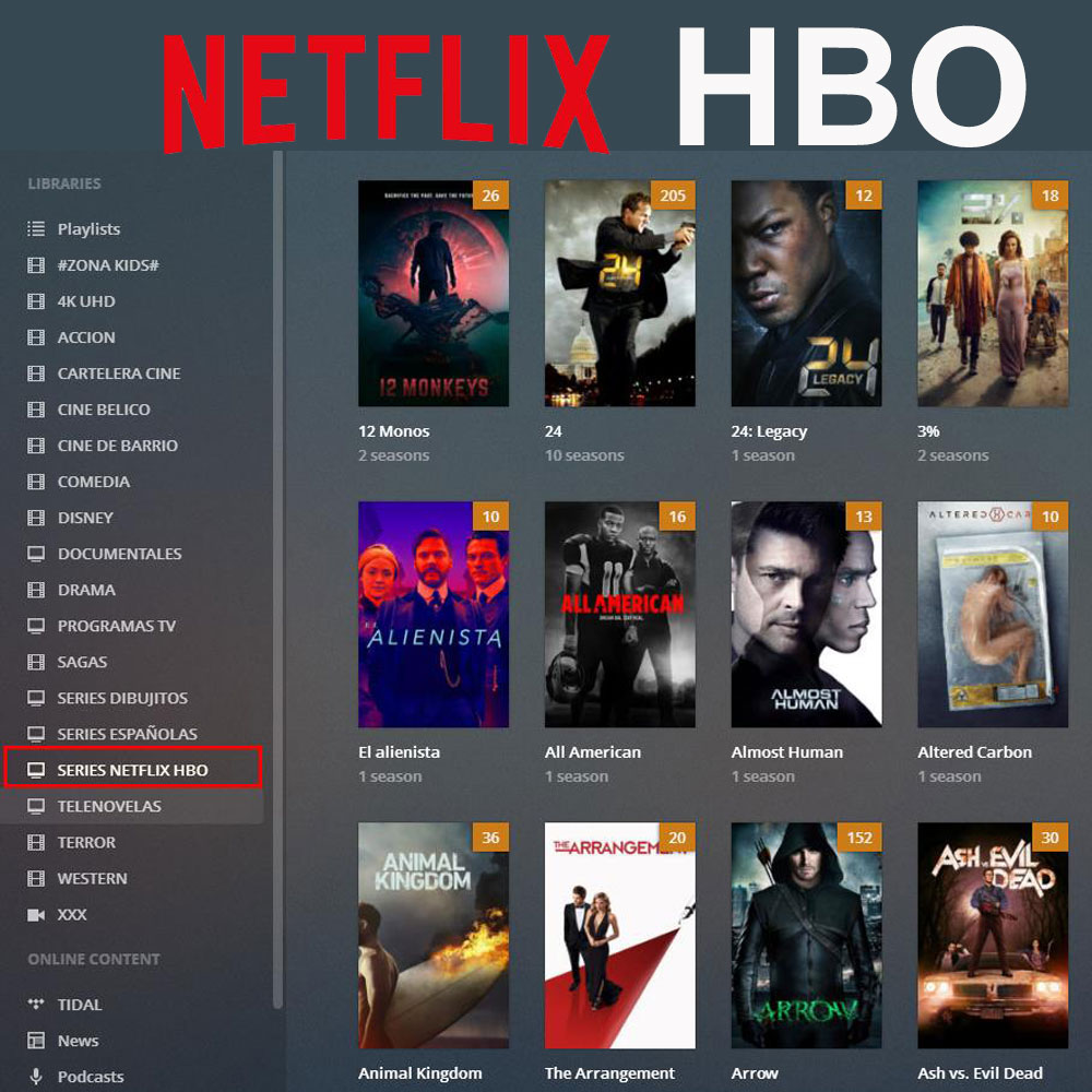 US $18 0 55% OFF 1 Year PLEX Subscription With NETFLIX HBO 4K UHD XXX  Channels For Smart TV Box Android IOS Mobile Smartphone Windows PC  Laptops-in