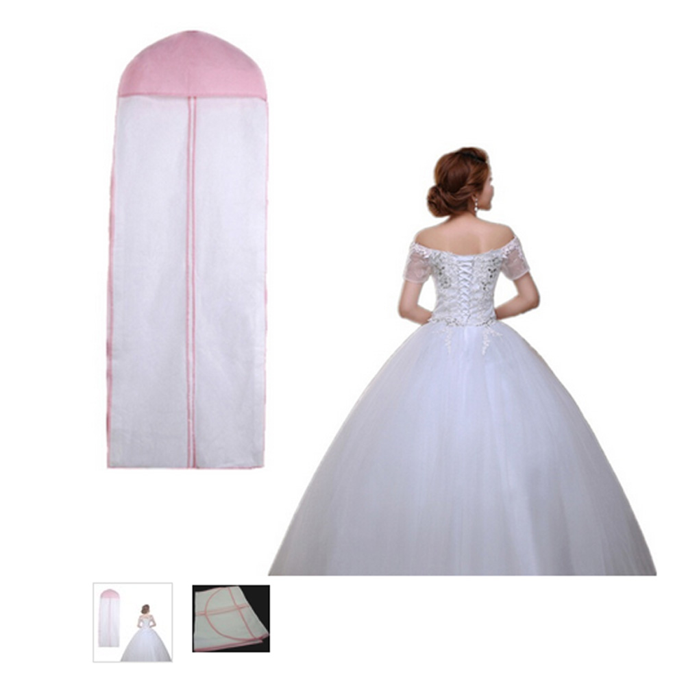 Length 155 Cheap Wedding Dress Bags Clothes Cover Dust