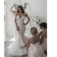 Angel married weddding Women's mermaid Bridal Dress