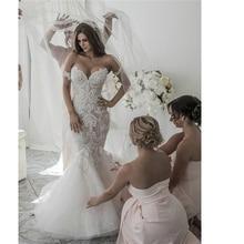 Angel married weddding Women's mermaid Bridal Dress