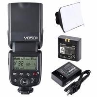 Godox V850II V850 II 2.4G Embutido Suporta Mestre Escravo GN60 Bateria Li ion para Canon para Nikon para Pentax para olympus|for canon|godox canon|godox v850 -
