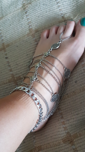 Jewelry & Accessories Jinse New Fashion Summer Sexy Silver Tassel Anklet Coin Pendant Chain Ankle Bracelet Foot Jewelry Barefoot Sandal Ak018 With A Long Standing Reputation