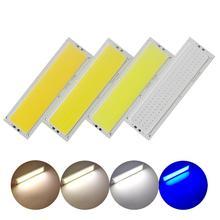 Светодиодная лента allcob высокой яркости, 10 шт./лот, 120x36 мм, 4,7 дюйма, 12 в пост. Тока