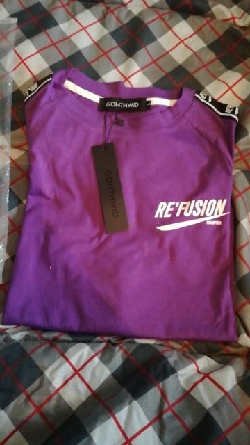 GONTHWID Ribbon Sleeve Printed Short Sleeve T-Shirt Hip Hop Casual T Shirts 2018 Summer Fashion Cotton Tees Streetwear Tshirts